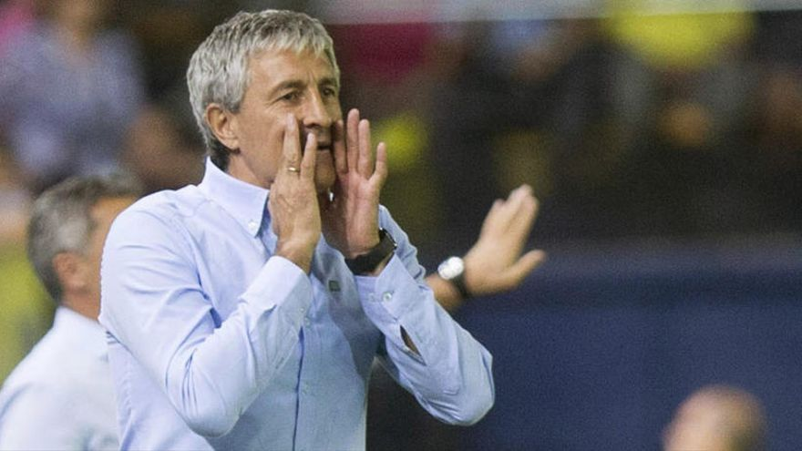 Quique Setién, confirmado como nuevo técnico del Barça
