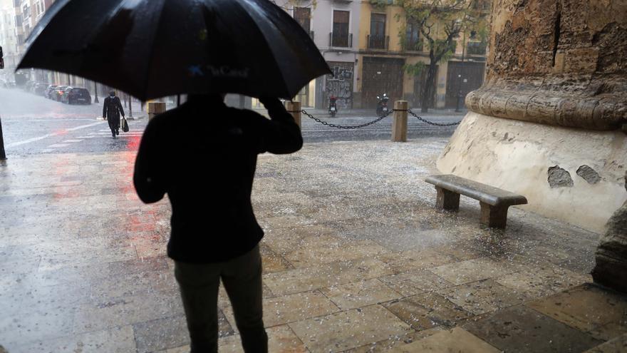 El tiempo en Valencia hoy: Más lluvias y tormentas mientras persiste la amenaza de pedrisco
