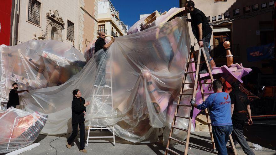Así serán las Fallas de València: con mascarilla al aire libre, sin mascletaes y una Cremà más tempranera
