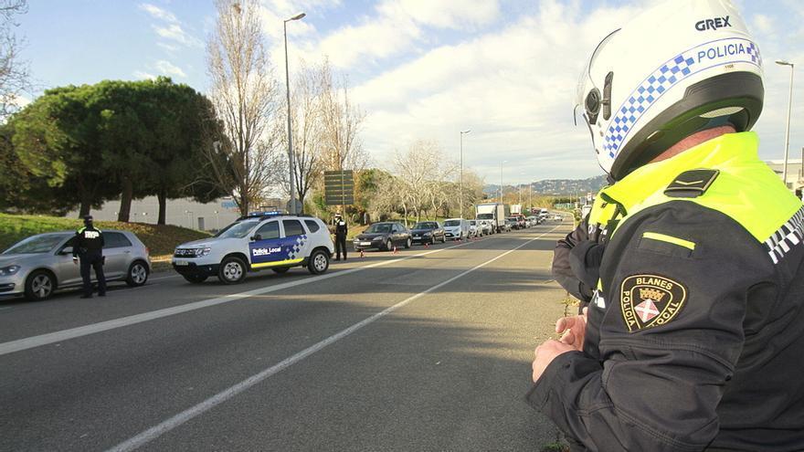 La Policia de Blanes realitza unes 45.000 actuacions Covid durant el 2020, 2.200 són denúncies
