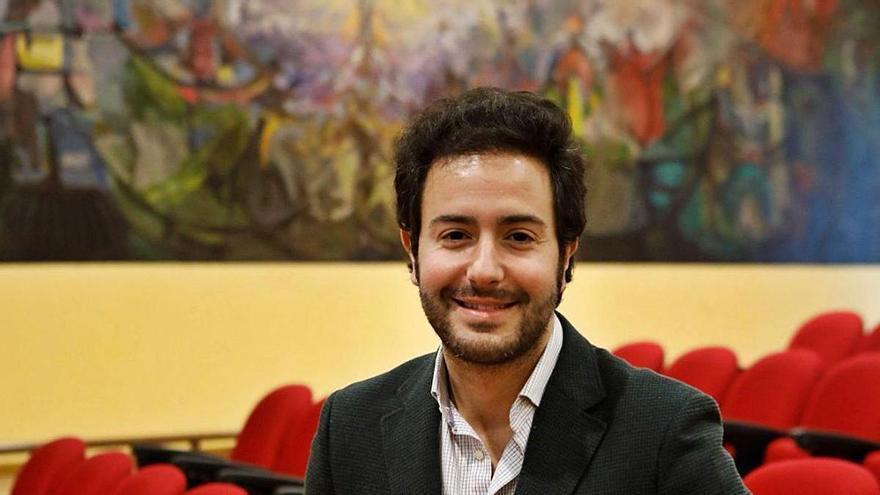 """El ingeniero David González, """"Asturiano del mes"""" tras acceder a la élite de los expertos en datos"""
