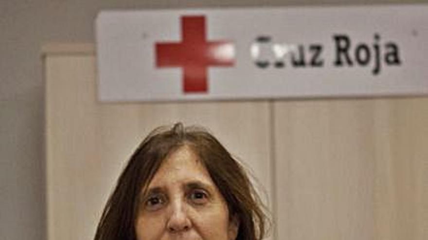 La pandemia eleva los usuarios de Cruz Roja, advierte la presidenta