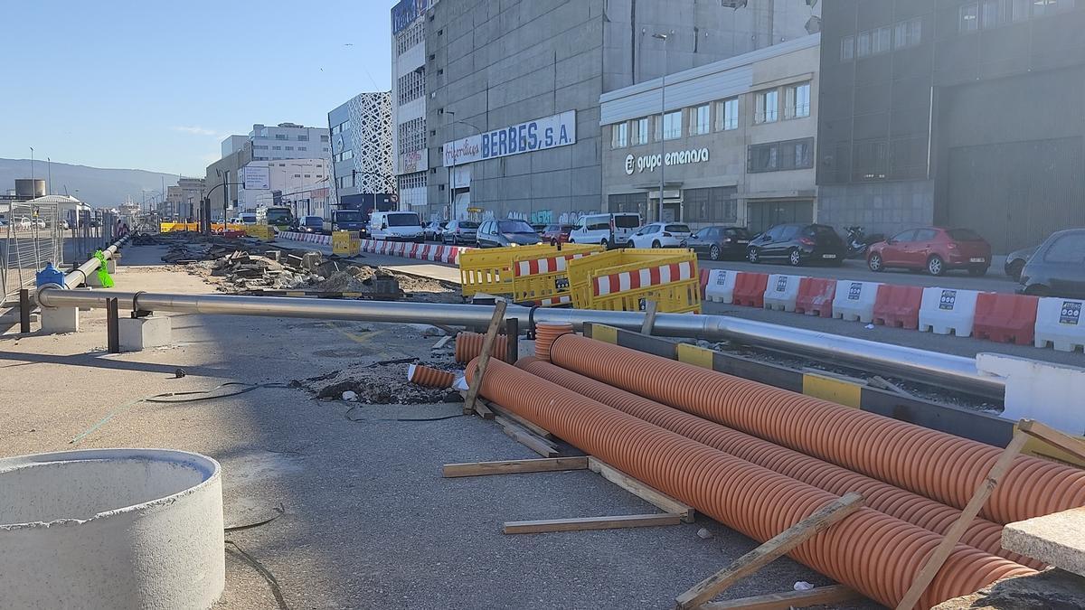 Mejoras en el puerto de Vigo