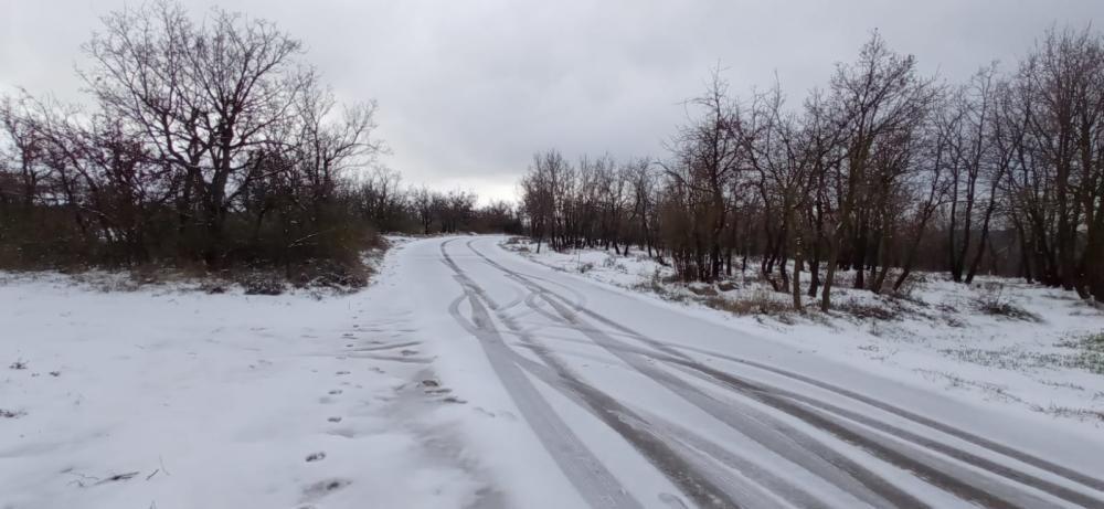 La neu comença a fer acte de presència a Moià