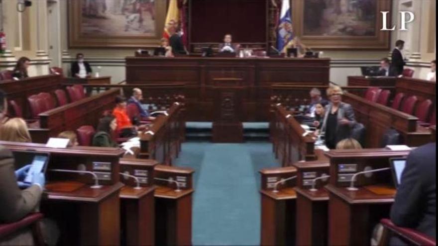 Desescalada | Pleno del Parlamento de Canarias