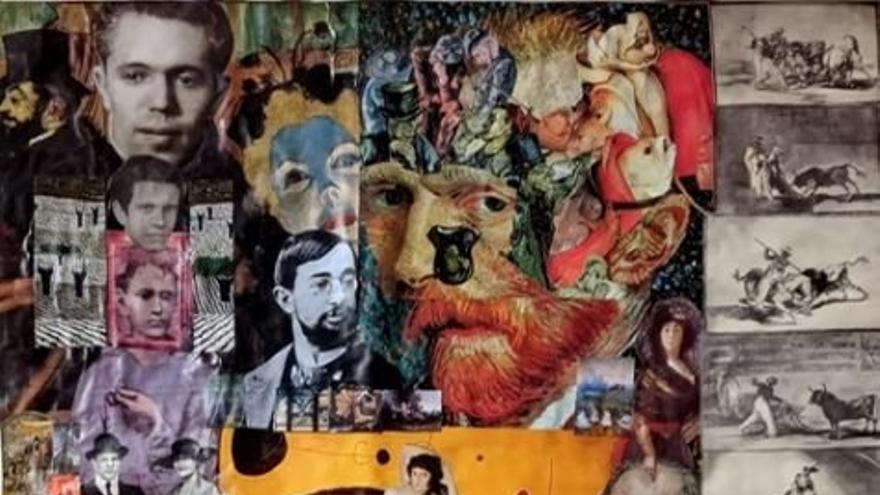 Manuel Pacheco y la pintura
