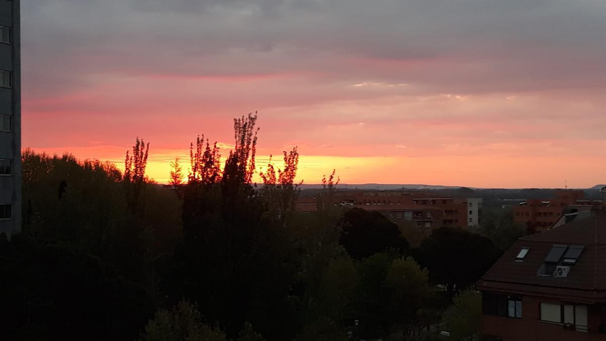 Amanecer en Zamora capital, esta mañana de jueves.