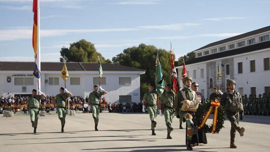 La III Bandera Paracaidista 'Ortíz de Zárate' celebra el día de su patrona