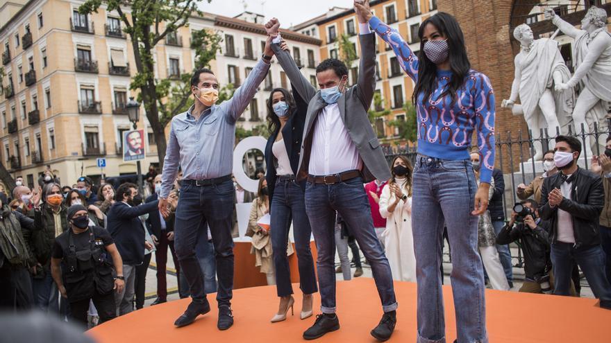 """Arrimadas y Bal piden para Ciudadanos el voto de """"los moderados"""""""