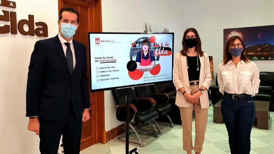 El Ayuntamiento de Elda reparte a 279 pymes y autónomos 295.000 € en ayudas