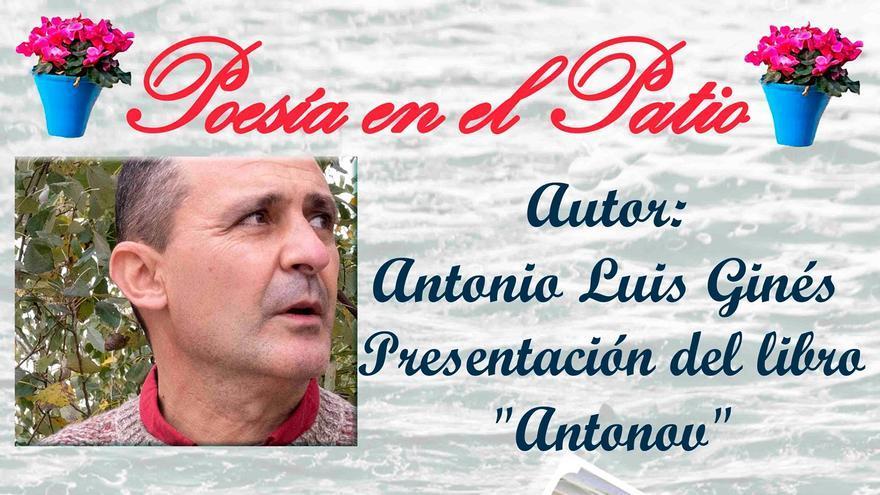 Presentación del poemario 'Antonov'