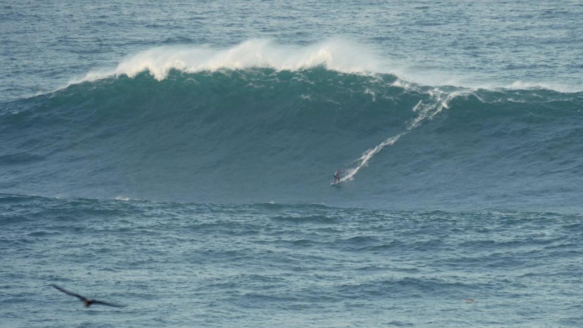 Onda Xigante, nueva apuesta para posicionar O Portiño entre la elite internacional del surf