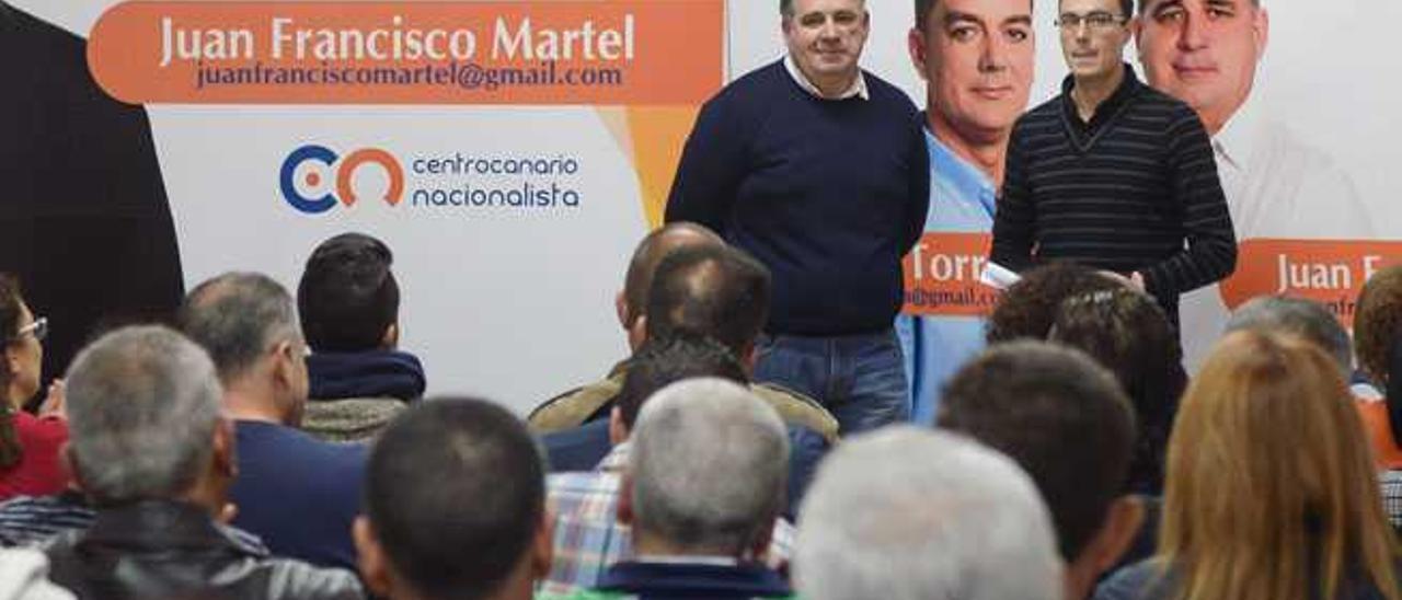 Martel asume de nuevo el liderazgo del CCN tras la renuncia de Torres