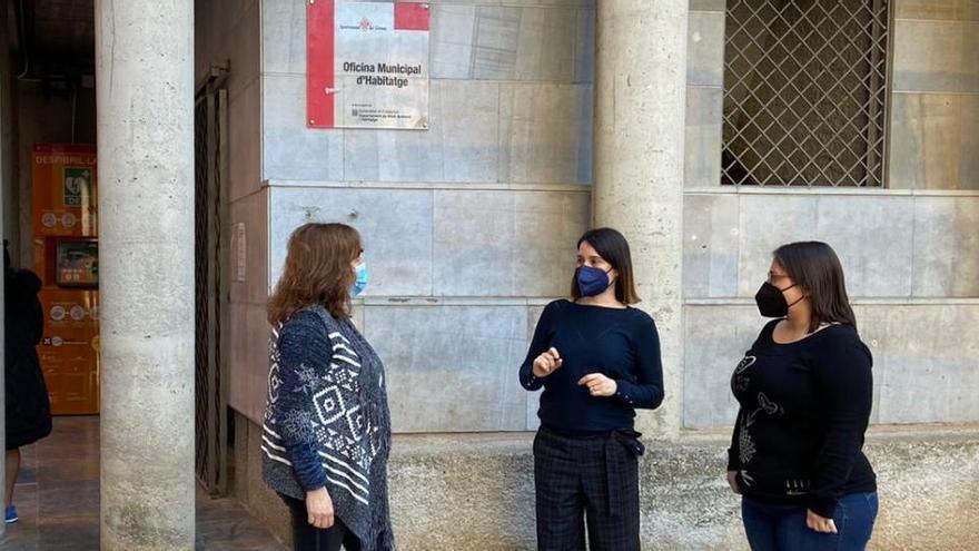 Girona tramita 127 ajudes per pagar el lloguer de gent gran en risc d'exclusió el 2020