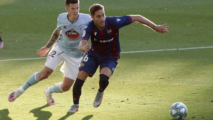 Sigue en directo el Levante UD - Celta de Vigo