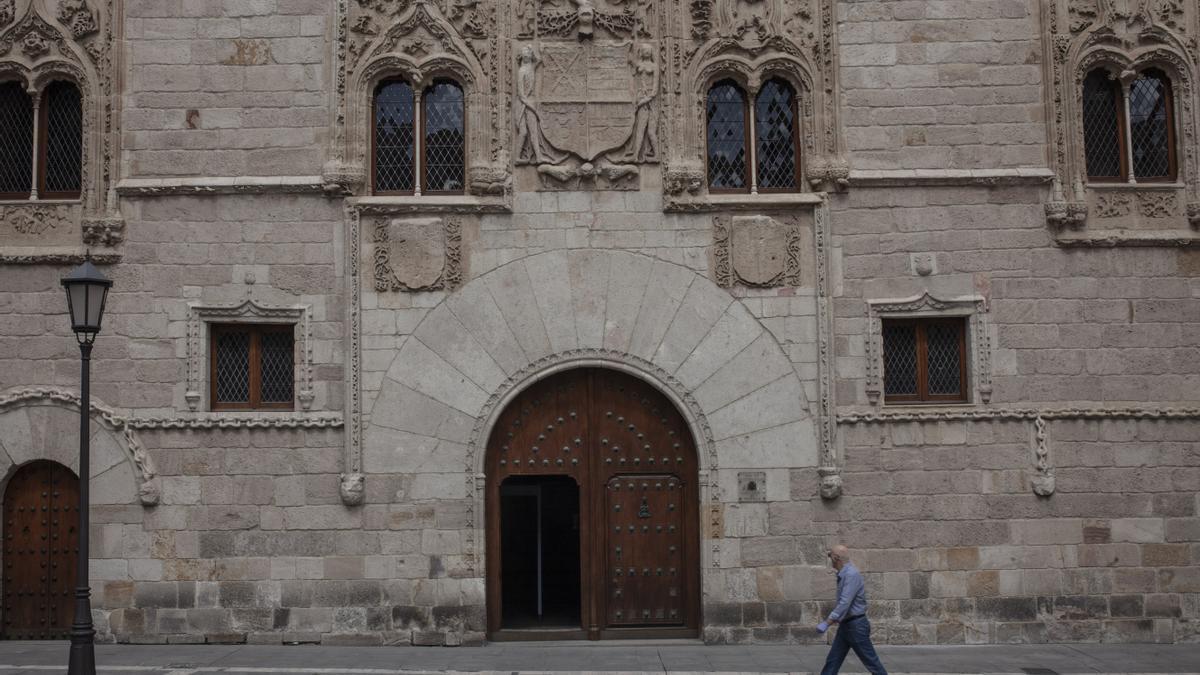 Fachada de la Audiencia Provincial de Zamora