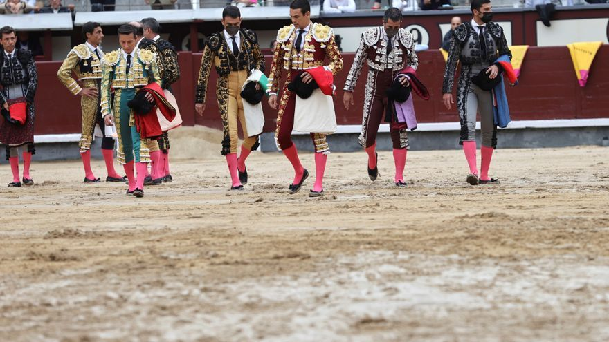 Aplazada al 8 de octubre la primera corrida de toros de la Feria de Otoño de Madrid por el mal estado del ruedo