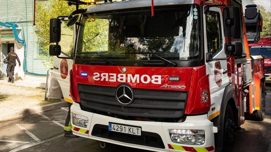 Un incendio en el Hospital Sant Joan de Déu de Barcelona deja ocho heridos