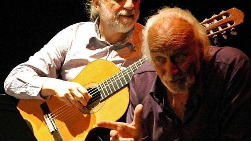 Héctor Alterio interpretará a León Felipe a ritmo de Piazzola y Turina