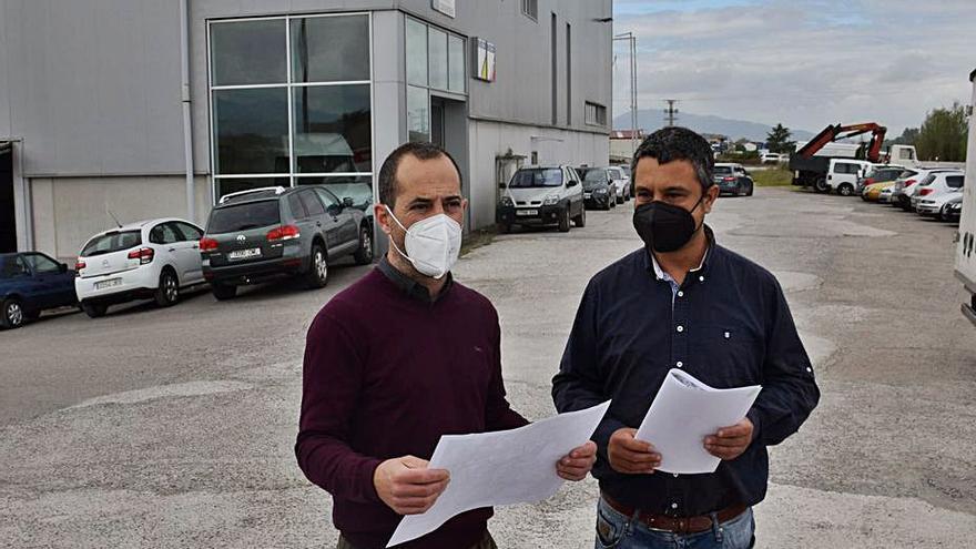 Siero impulsa el proyecto para conectar la zona industrial de El Berrón al saneamiento