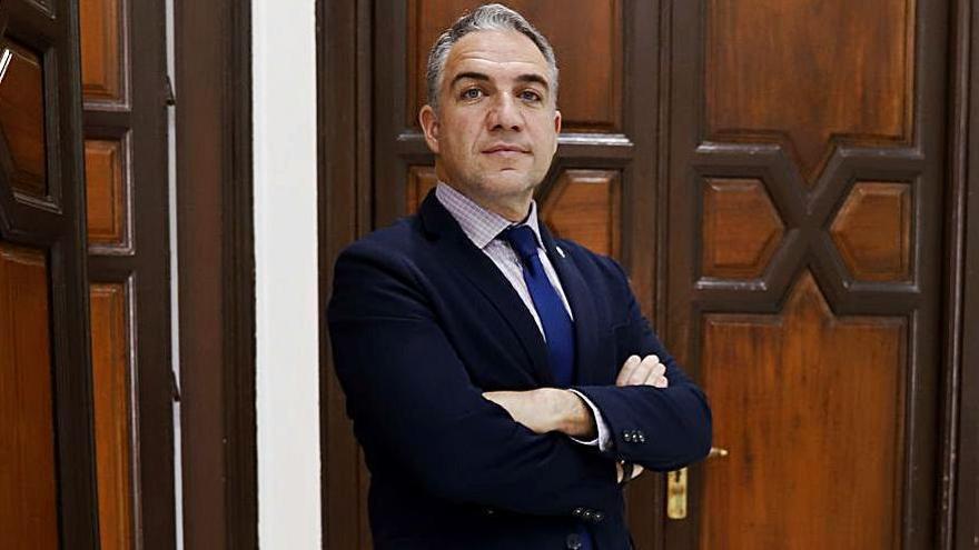 El presidente del PP de Málaga y consejero de la Presidencia del Gobierno andaluz, Elías Bendodo.
