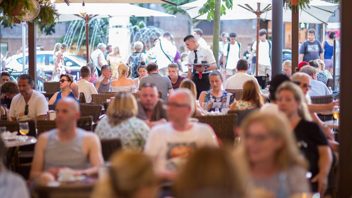 Die Bar Bosch in Palma de Mallorca.