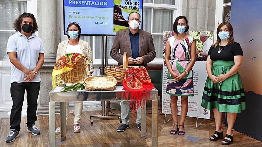 Mondariz rendirá tributo en la Feria de Oficios a su último maestro 'cesteiro'