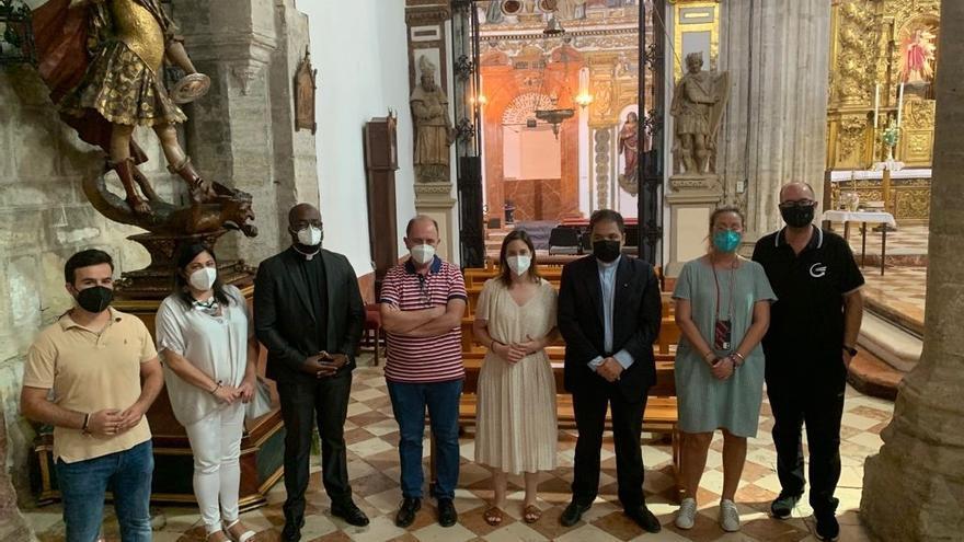 Las obras de restauración del Sagrario de la Parroquia de Nuestra Señora del Soterraño de Aguilar finalizarán en septiembre