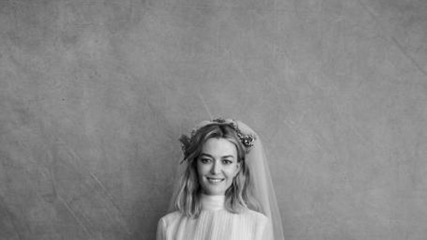 El vestido de novia de Marta Ortega, diseño exclusivo de Valentino