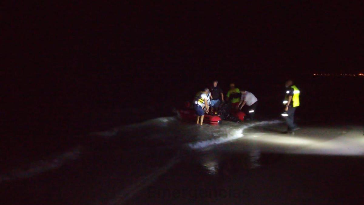 Rescatan a 14 pasajeros de una embarcación con vías de agua en San Pedro