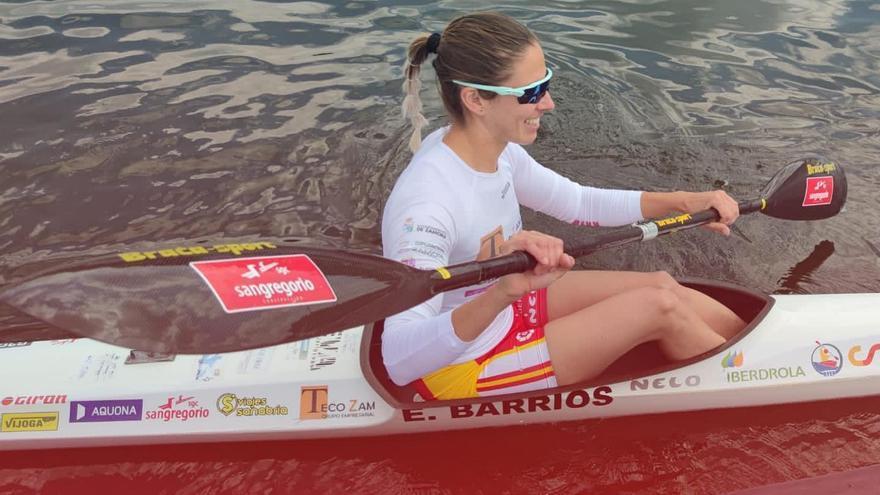 Eva Barrios finaliza quinta el K-1 5.000 del Mundial de Piragüismo