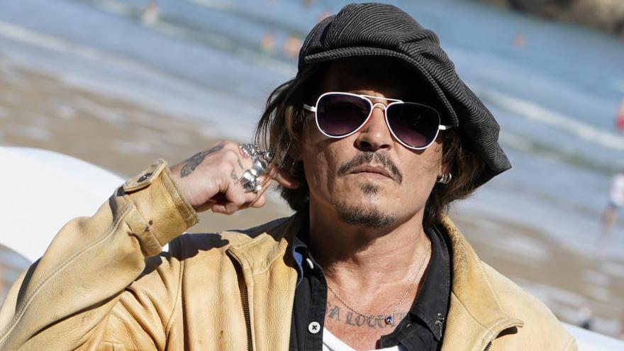 EN VÍDEO | Johnny Depp  presenta a Sant Sebastià un documental sobre el líder de Pogues
