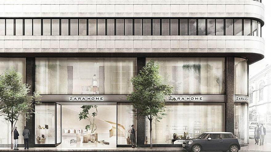 Inditex lanza en la plaza de Lugo la nueva imagen global de Zara Home