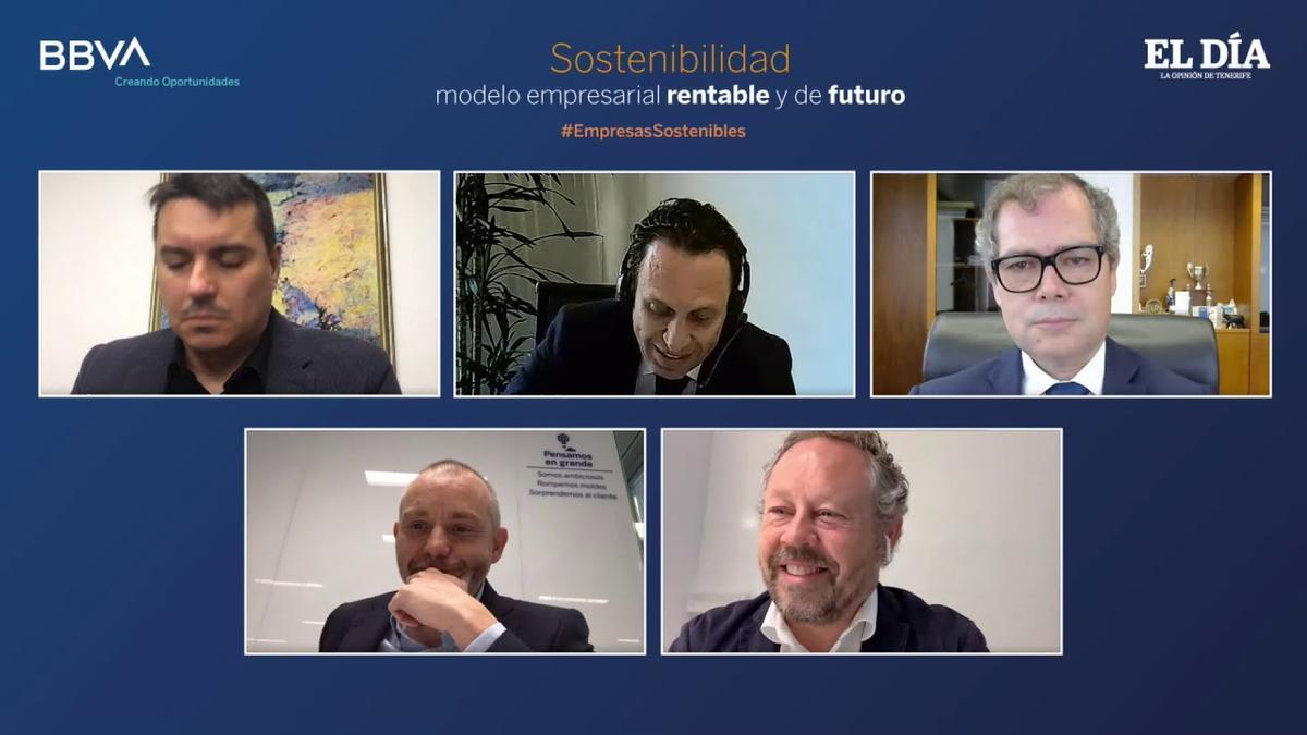 Foro Sostenibilidad, modelo empresarial rentable y de futuro, organizado por El Día, en colaboración con BBVA