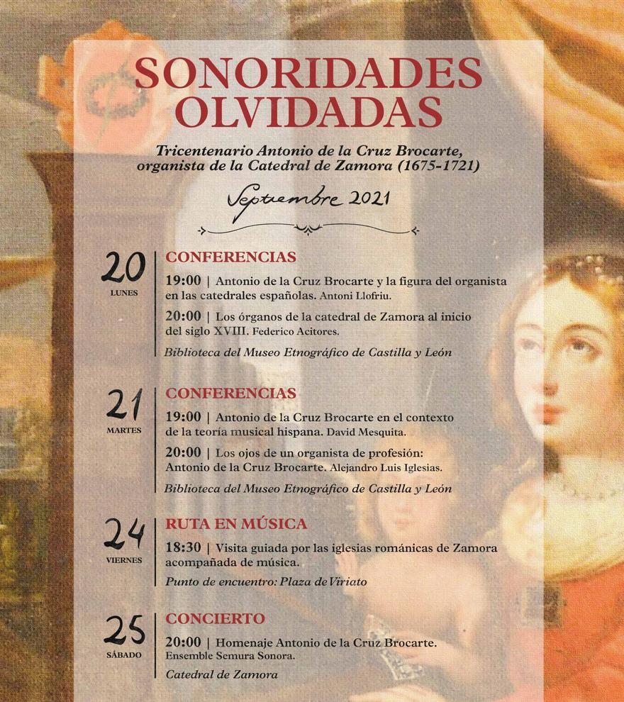 Tricentenario Antonio de la Cruz Brocarte - 21 de septiembre