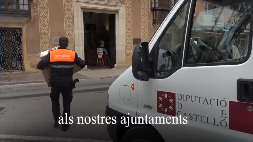 VÍDEO | Así agradece la Diputación el trabajo de su plantilla y los alcaldes durante el primer año de pandemia