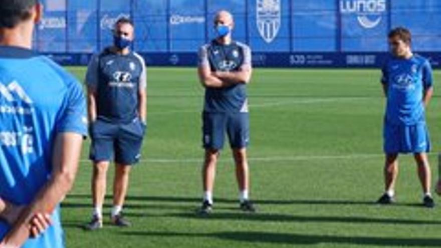 Los jugadores del Atlético Baleares que dieron negativo en la covid vuelven a entrenar