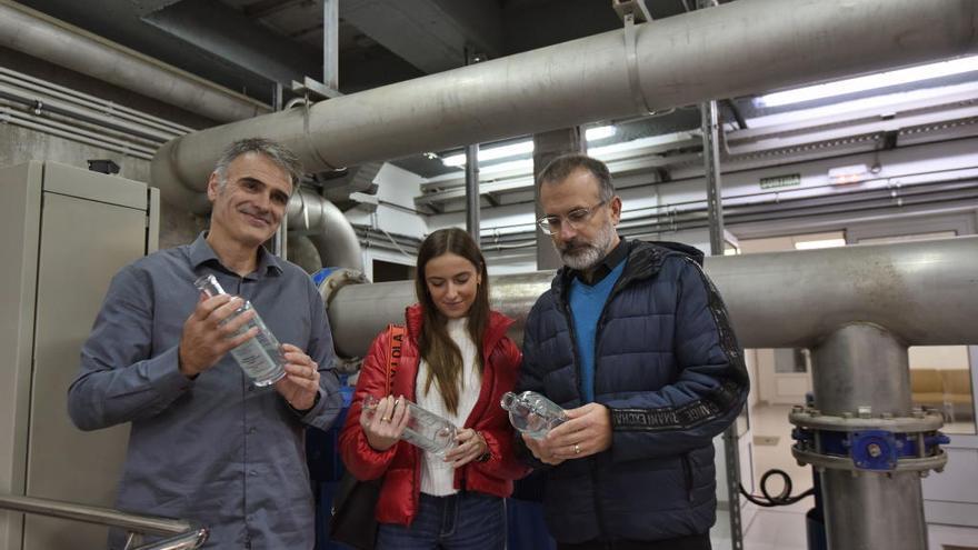 Un treball de recerca impulsa l'ampolla reutilitzable Aigua de Figueres