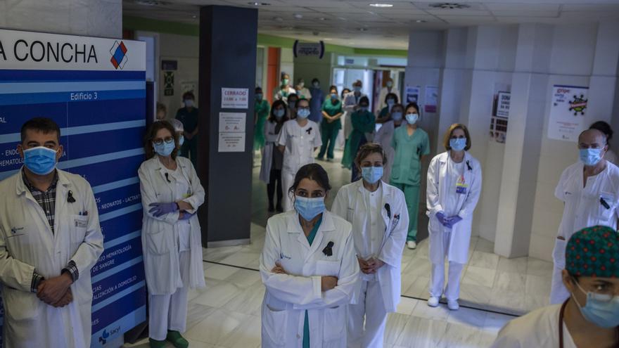 Los sanitarios se manifiestan en Zamora contra el decreto de la Junta