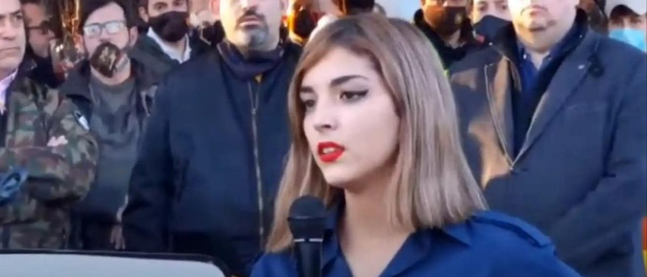 Isabel M. Peralta pudo cometer un delito de odio, según la policía.