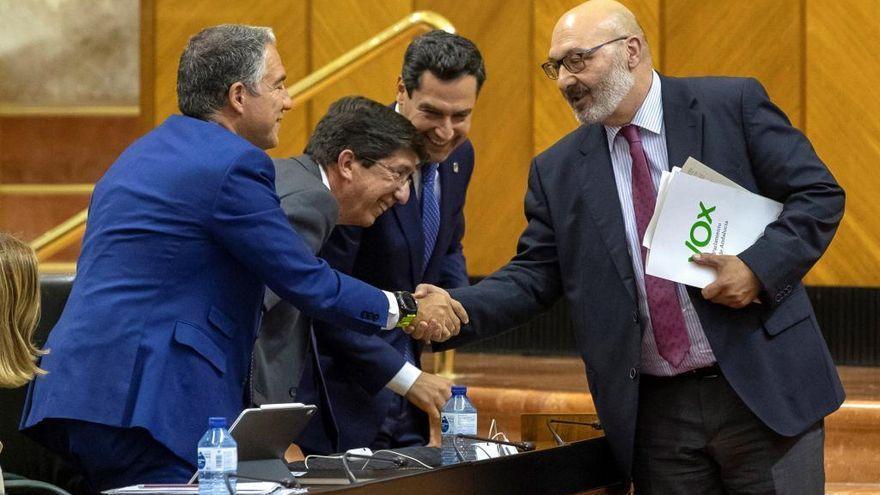 Vox tensa la cuerda y le exige un adelanto electoral al Gobierno andaluz