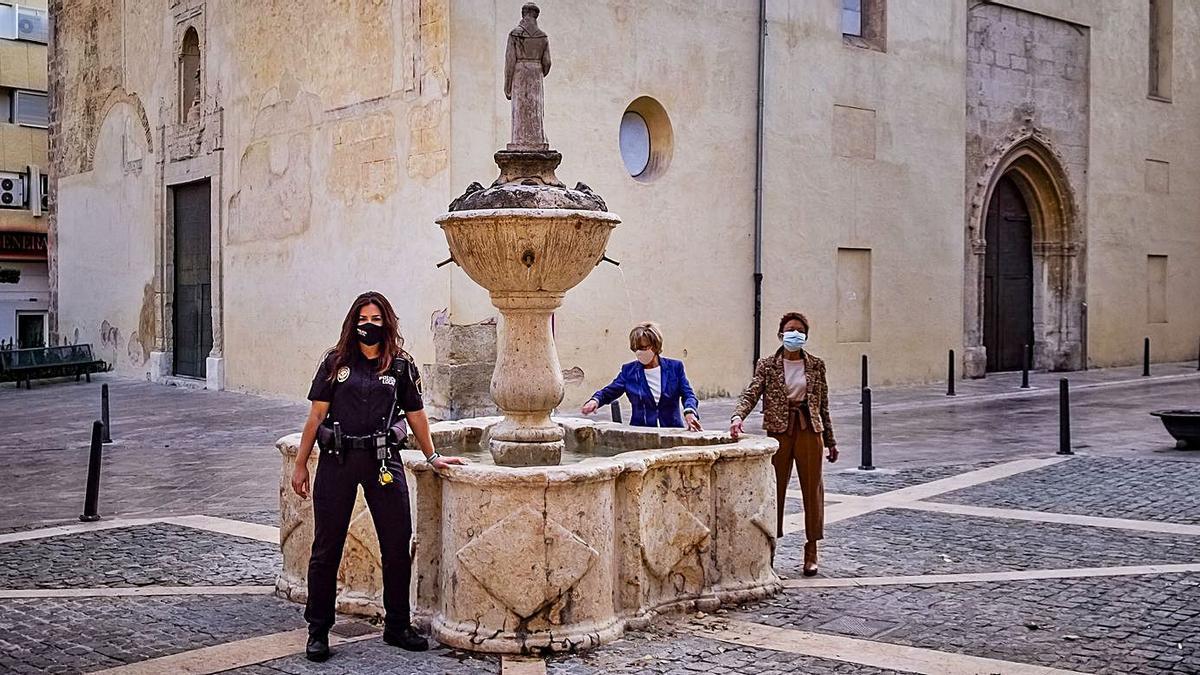 Una de las fotografías que ilustra el calendario benéfico de Xàtiva. | VICENT MARCHIRANT