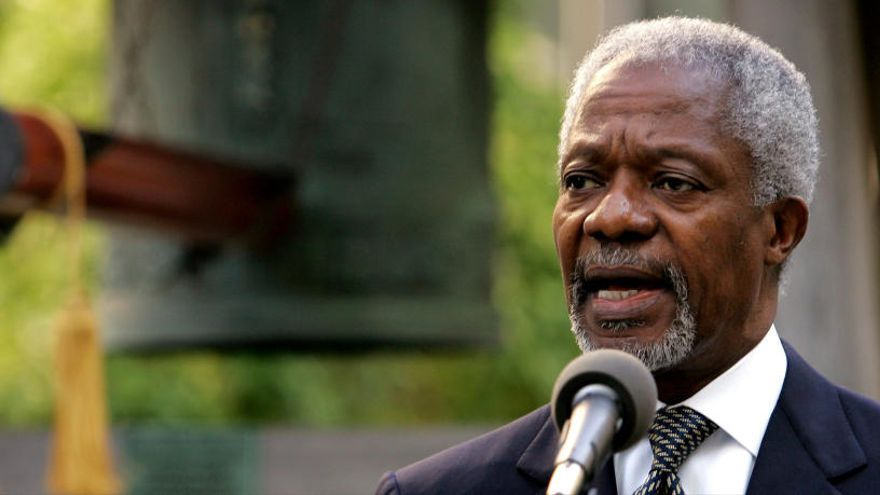 Kofi Annan en diez fechas