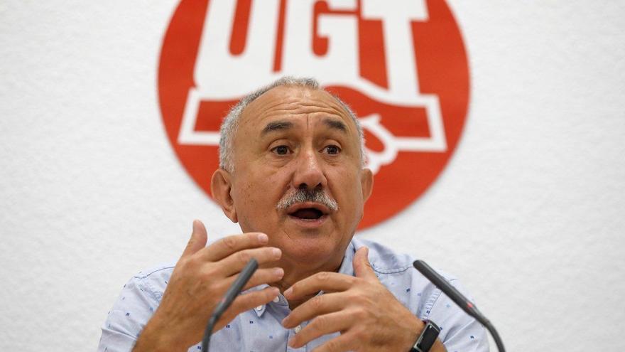 """UGT acusa de """"traición"""" a Casado por amenazar con impugnar la reforma laboral ante Bruselas"""