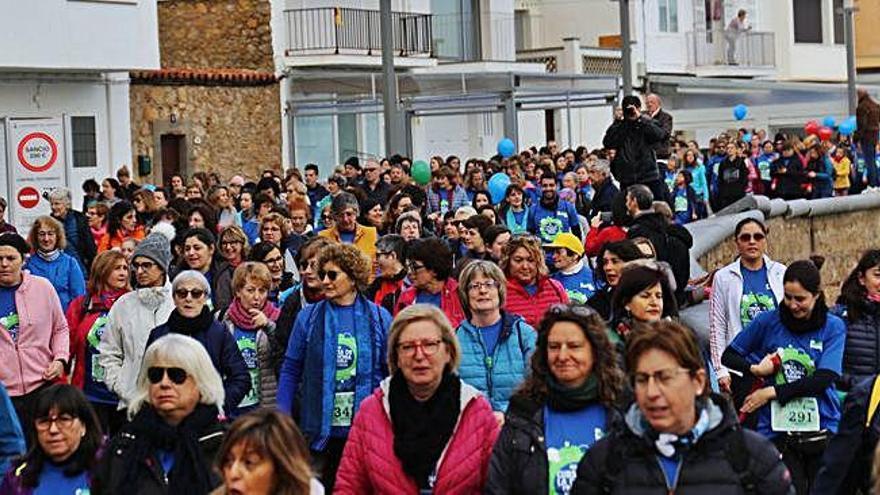 L'Escala celebra la  quarta Cursa               de la Dona