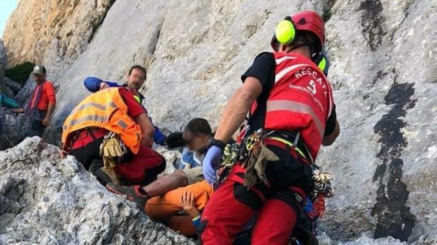 Cal Rosal acomiadarà diumenge el bomber mort quan escalava a Astúries
