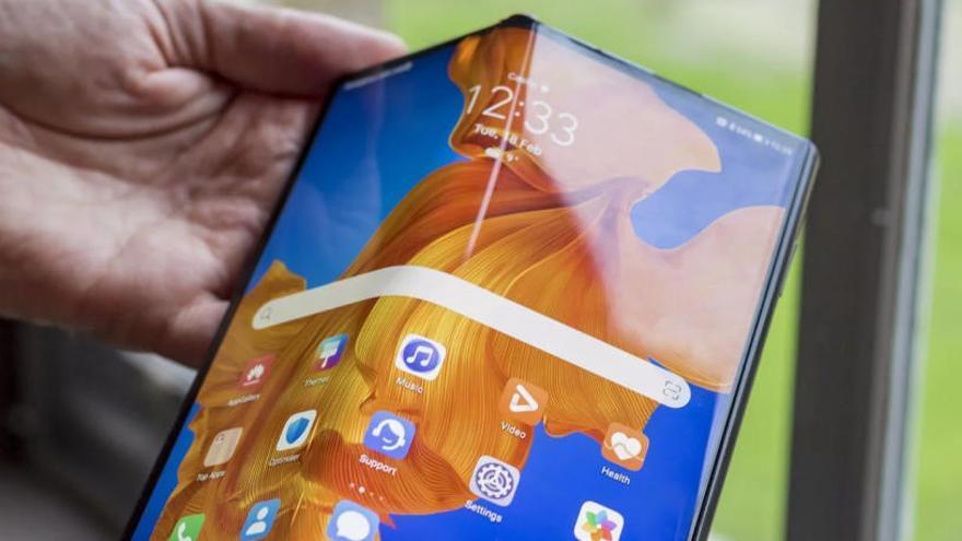 El nou mòbil de pantalla pleglable