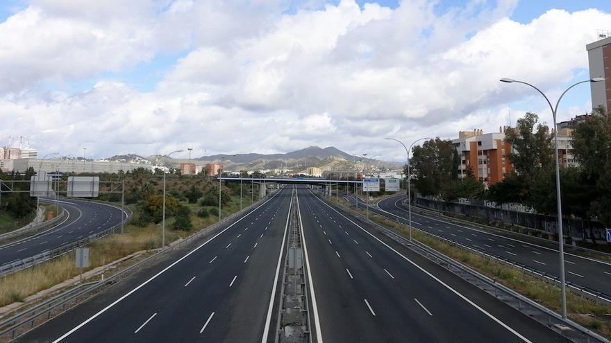 Las carreteras de Málaga suman 28 fallecidos durante el año del coronavirus