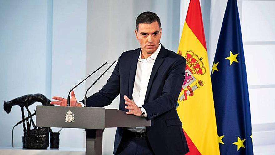 Pedro Sánchez anuncia un plan de salud mental dotado con 100 millones