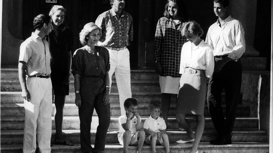Diana de Gales: sus veranos en Mallorca